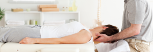 Chiropractic services for a woman